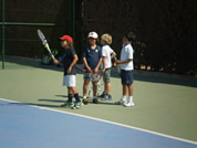 Kids tennis camp Spain